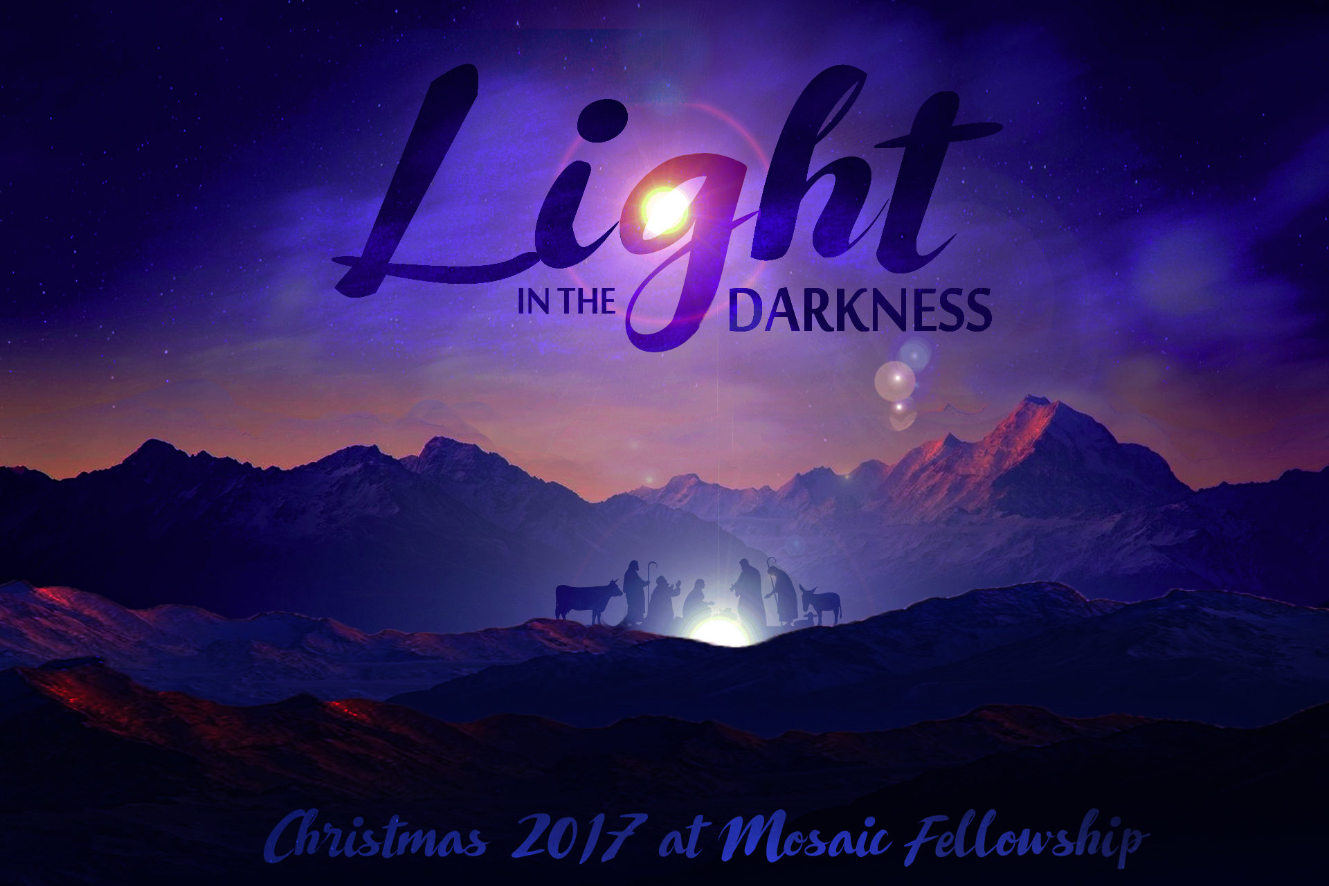 Light In the Darkness: Christmas 2017